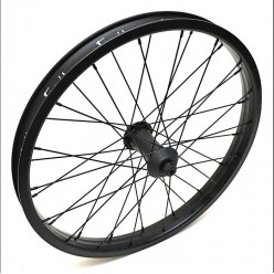 FIEND Cab Flangeless front wheel BLACK