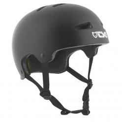TSG Evolution helmet SOLID COLOR SATIN BLACK
