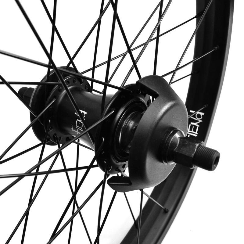 """FIEND Cab V2 freecoaster wheel 20"""" BLACK with guards"""