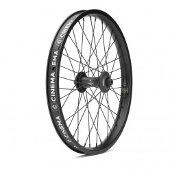 "CINEMA FX 888 front wheel 20"" BLACK WITH GUARDS"