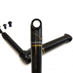 Pedalier FOUNDATION Subprime 165mm ED BLACK