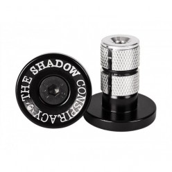 Embouts de guidon SHADOW Deadbolt BLACK