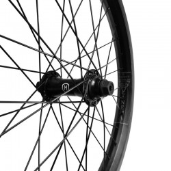 CINEMA Reynolds x MISSION Radar custom front wheel BLACK