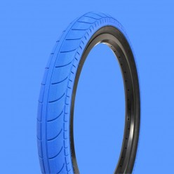 "STRANGER Ballast tire 20 x 2.45"" BLUE / BLACK"