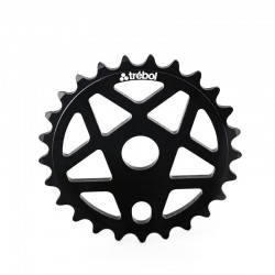 TREBOL 3 Aluminum sprocket BLACK