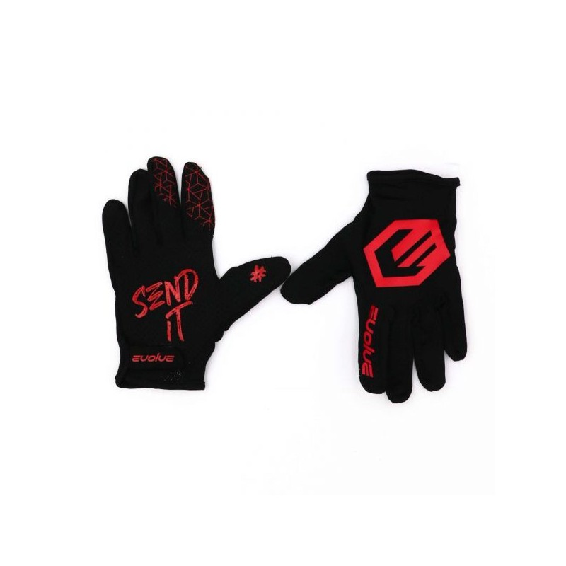 Gants EVOLVE Send It BLACK / RED