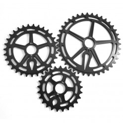 TERRIBLE ONE Logan's run sprocket BLACK