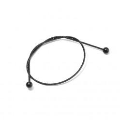 Cable chape relais MISSION double boule