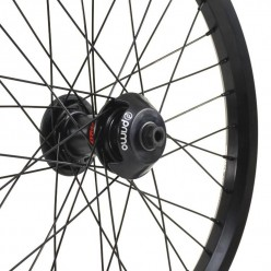 Roue STRANGER Crux V2 LT freecoaster BLACK AVEC GUARDS