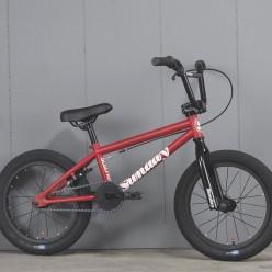 "SUNDAY 2021 Blueprint complete bike 16"" MATTE RED"