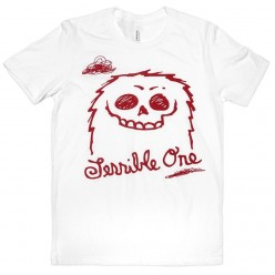 Tshirt TERRIBLE ONE FurryMon WHITE