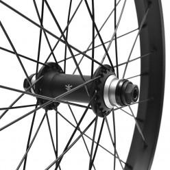 """FLYBIKES Magneto x Piramide front custom wheel 20"""" BLACK"""