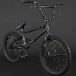 "FLYBIKES 2021 Electron 20.5"" complete bike RHD FLAT BLACK"