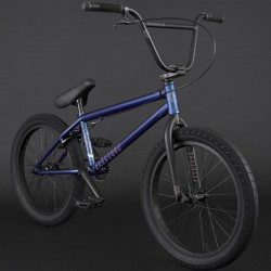 "FLYBIKES 2021 Electron 20.5"" complete bike LHD FLAT METALLIC BLUE"