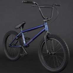 """BMX FLYBIKES 2021 Electron 21"""" LHD FLAT METALLIC BLUE"""