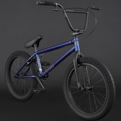 "FLYBIKES 2021 Electron 21"" complete bike LHD FLAT METALLIC BLUE"