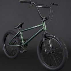 "BMX FLYBIKES 2021 Orion 21"" LHD FLAT METALLIC GREEN"