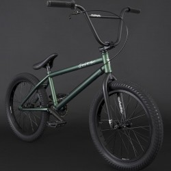 "FLYBIKES 2021 Orion 21"" complete bike LHD FLAT METALLIC GREEN"