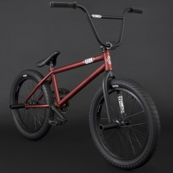 """BMX FLYBIKES 2021 Sion 21"""" LHD FLAT METALLIC RED"""