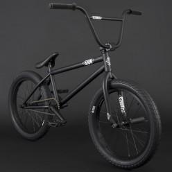 """BMX FLYBIKES 2021 Sion 21"""" RHD FLAT BLACK"""