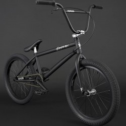 "FLYBIKES 2021 Orion 21"" complete bike RHD FLAT BLACK"