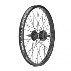 "CINEMA ZX 333 Freecoaster wheel 20"" BLACK"