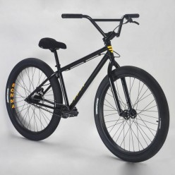"MAFIABIKES Bomma 26"" wheelie bike BLACK"