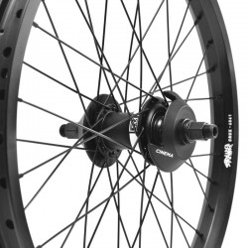 "CINEMA FX2 freecoaster - STRANGER Crux custom wheel 20"""