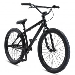"Wheelie bike SE BIKES 2021 Blocks Flyer 26"" STEALTH MODE BLACK"