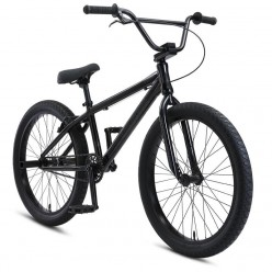 "SE BIKES 2021 Socal Flyer 24"" wheelie bike STEALTH MODE BLACK"