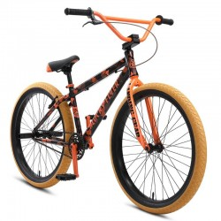 "Wheelie bike SE BIKES 2021 Blocks Flyer 26"" ORANGE CAMO"