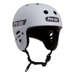 Casque PROTEC Full Cut Certified MATTE WHITE