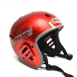 Casque PROTEC Full Cut Certified RED METAL FLAKE