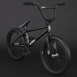 "BMX FLYBIKES 2021 Supernova 18"" RHD GLOSS BLACK"