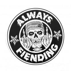 """FIEND Always Fiending 6"""" ramp sticker"""