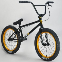 "BMX MAFIABIKE Kush 2+ 20.4"" BLACK GOLD"