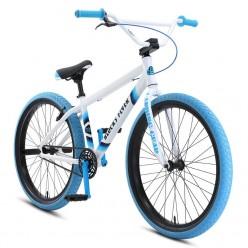 """SE BIKES 2021 Blocks Flyer 26"""" wheelie bike WHITE"""