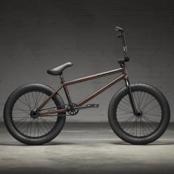 """KINK 2022 Nathan Williams freecoaster bike 21"""" MATTE RATTLESNAKE BROWN"""