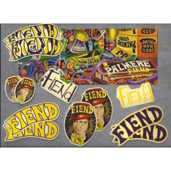 Pack of FIEND JJ Palmere V2 stickers