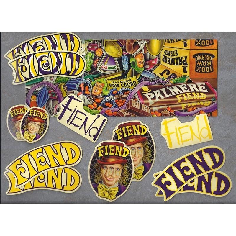 Pack stickers FIEND JJ Palmere signature