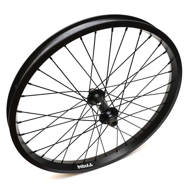 TREBOL Bueno female front wheel FLAT BLACK