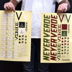 VERDE Tony Neyer Pack stickers