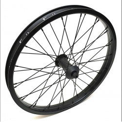 FIEND Cab Flangeless front wheel BLACK WITH GUARDS