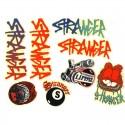 Pack de stickers STRANGER 2017