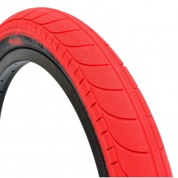"STRANGER Ballast tire 20 x 2.45"" RED / BLACK WALL"