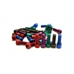 Colored stem bolt kit M8 x 1.25mm