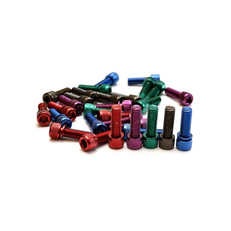 Vis de potence en couleur M8 x 1.25mm