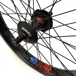STRANGER Crux V2 XL cassette rear wheel BLACK WITH GUARDS