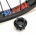 STRANGER Crux V2 CASSETTE rear wheel BLACK