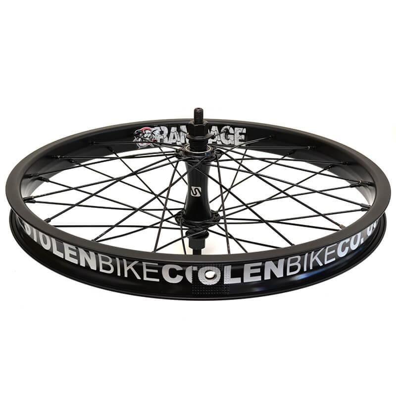 """STOLEN Rampage front wheel 18"""" BLACK"""